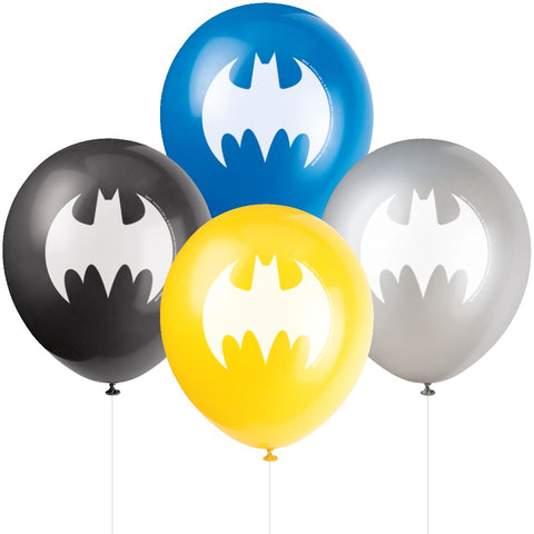 "12"" Latex Batman Party Balloons"