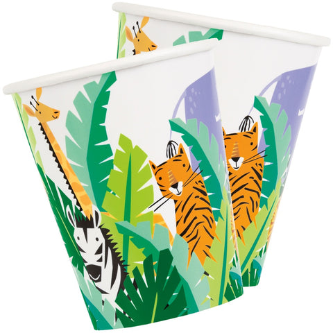 Animal Safari Paper Cups