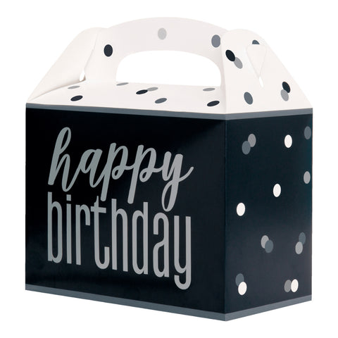 Glitz Black & Silver Party Boxes