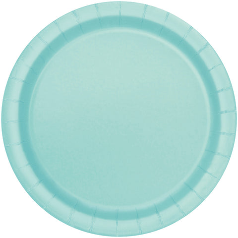 "9"" Mint Green Party Plates"
