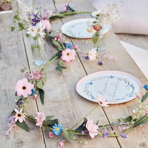 Meadow Reuseable Artificial Flower Garland