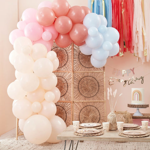 Muted Pastel Balloon Arch Kit