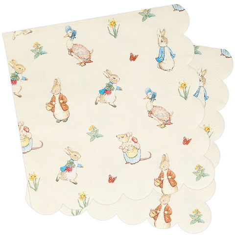 Peter Rabbit & Friends Large Napkins