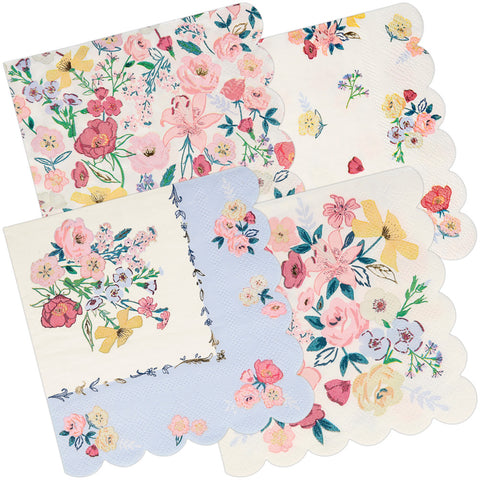 English Garden Party Napkins 33cm