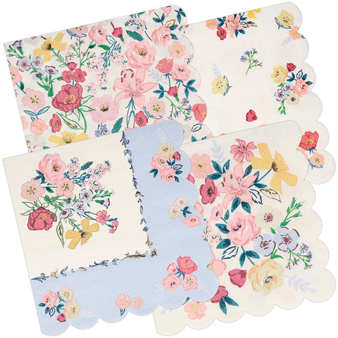 English Garden Party Napkins 25cm