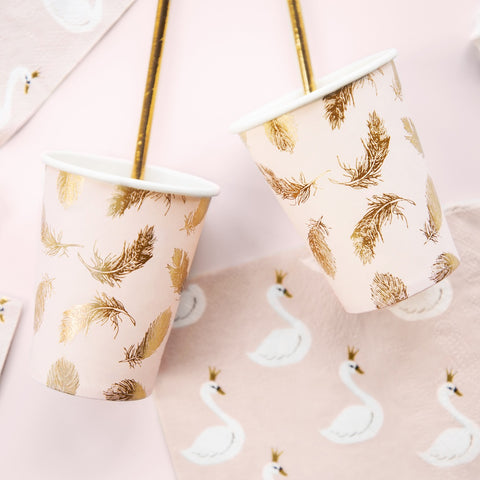 Lovely Swan Paper Cups