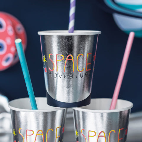 Space Party Paper Cups