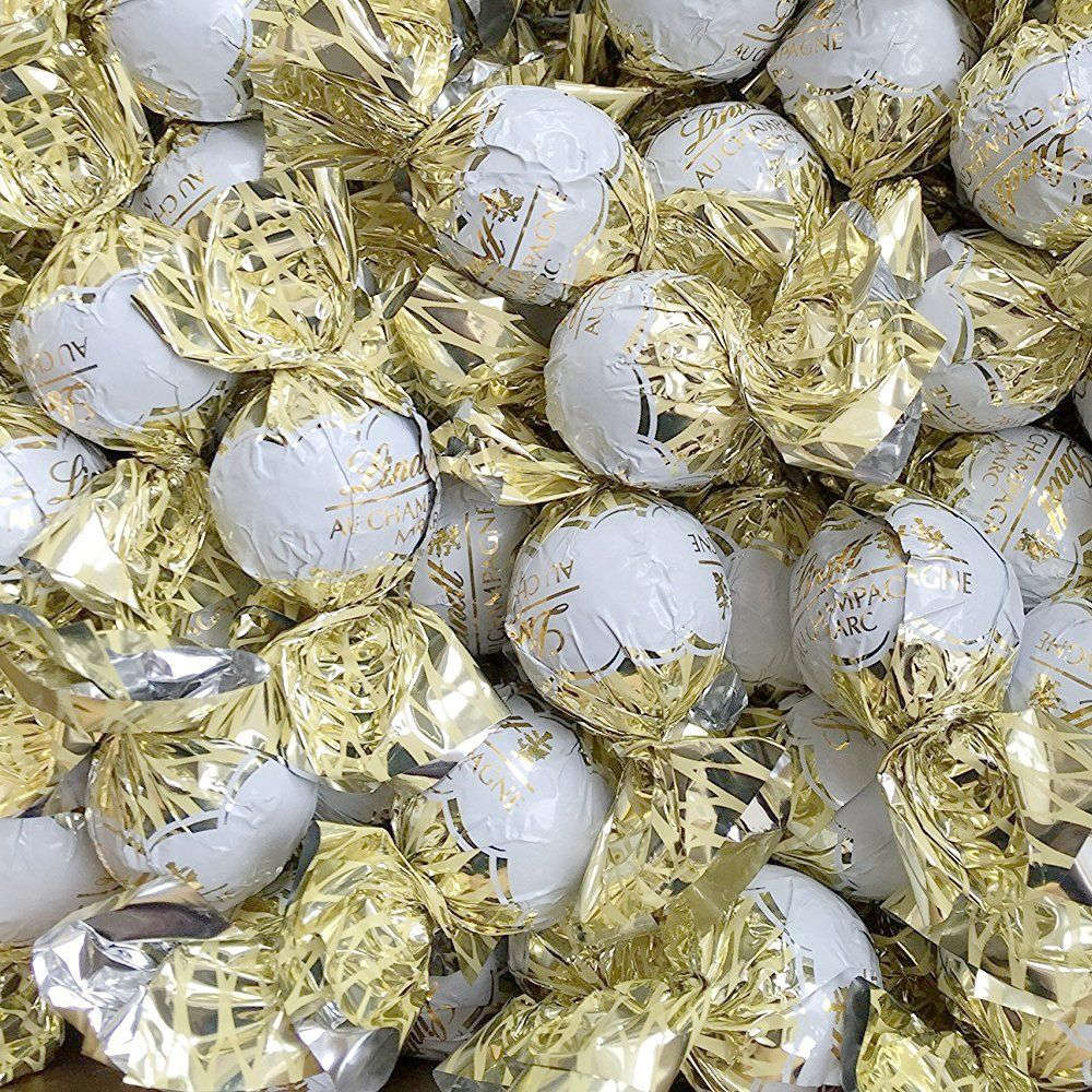 Lindt Lindor Uk Champagne Milk Chocolate Truffles