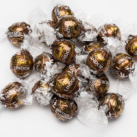 Lindt Lindor UK Hazelnut - Lindt Lindor - Party Touches
