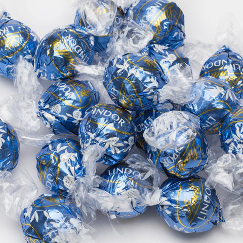 Lindt Lindor UK Milk & White Chocolate - Lindt Lindor - Party Touches