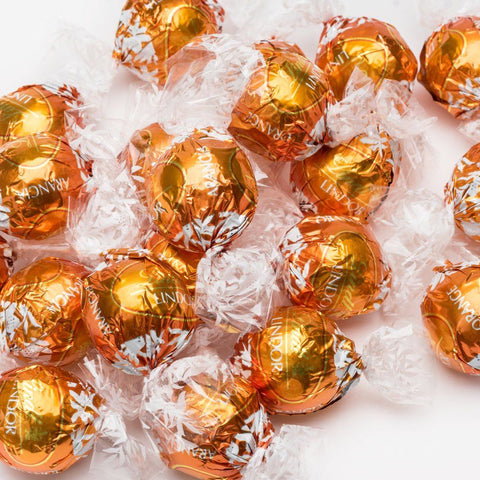 Lindt Lindor UK Orange Milk Chocolate - Lindt Lindor - Party Touches