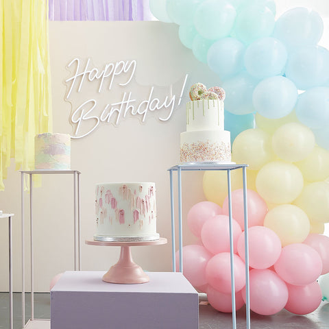 Mixed Pastels Balloon Arch Kit