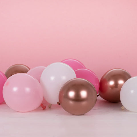 Blush and Rose Gold Balloon Bundle
