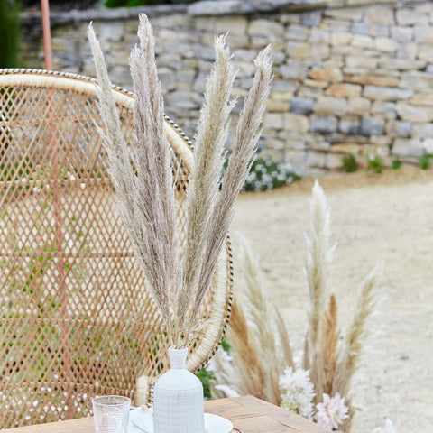 Natural Pampas Grass Decorations