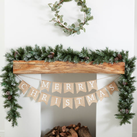 Christmas Foliage Runner Garland