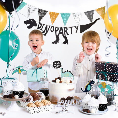 Dinosaur Party Decorations Set