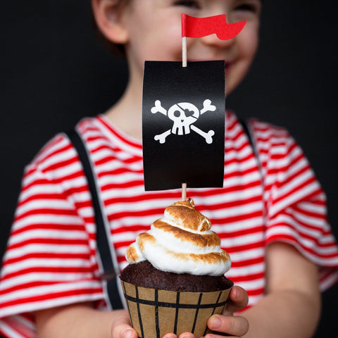 Pirates Party Cupcake Kit