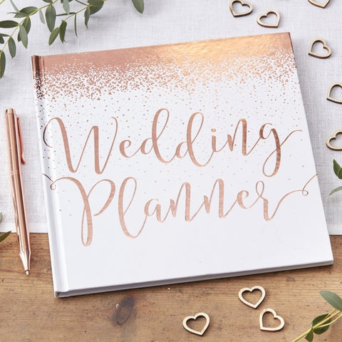 Rose Gold Foiled Wedding Planner - Ginger Ray - Party Touches