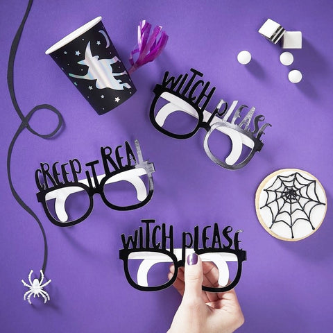 Black Foiled Fun Glasses - Ginger Ray - Party Touches