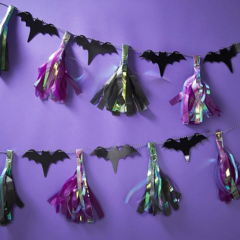 Bat Tassel Garland - Ginger Ray - Party Touches