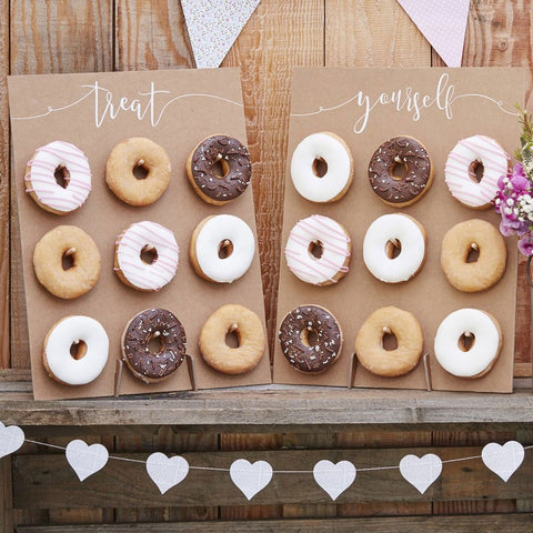 Brown Donut Wall Cake Alternative - Ginger Ray - Party Touches