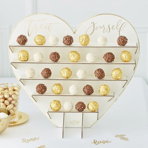 Treat Yourself Chocolate Treat Stand - Ginger Ray - Party Touches