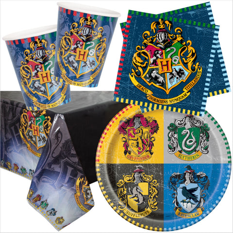 Harry Potter Party Tableware Bundle - 8 Guests - Unique Party - Party Touches