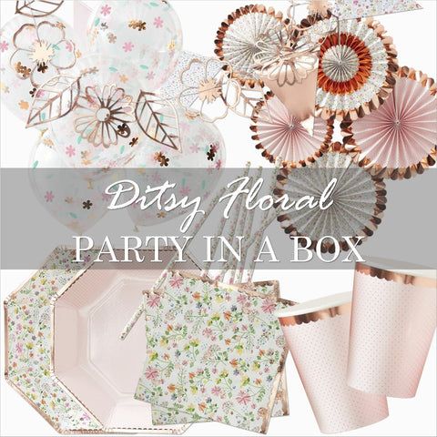 Ditsy Floral Party in a Box