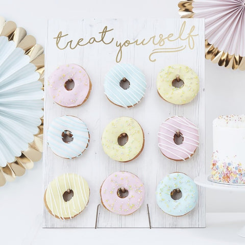 Treat Yourself Donut Wall - Ginger Ray - Party Touches