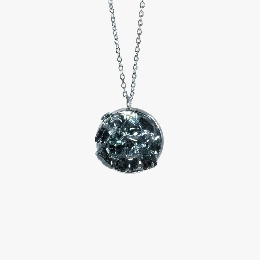 Cluster Necklace - Medium Black