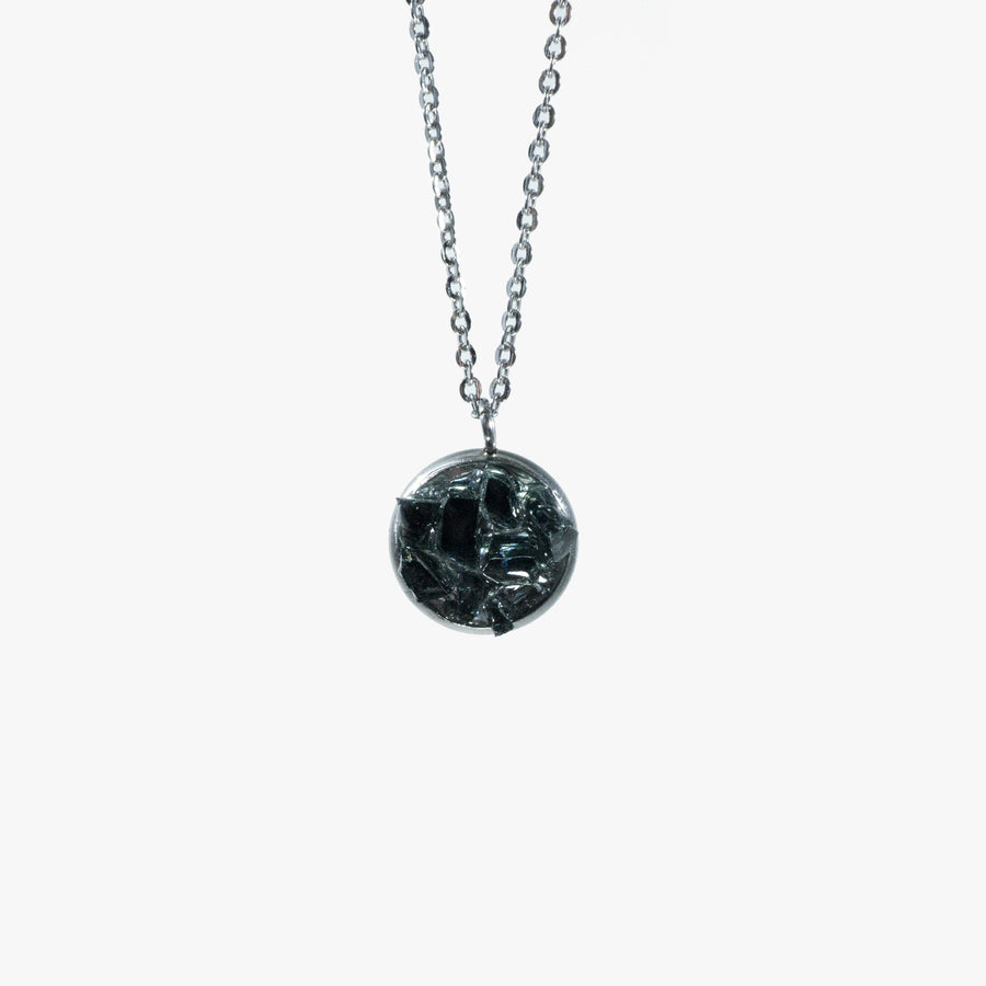 Cluster Necklace - Small Black