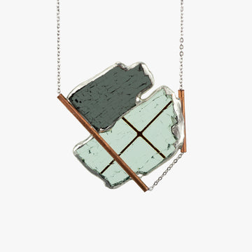Auto Glass Necklace - Statement No. 08