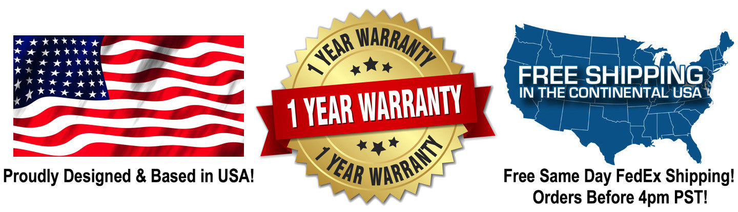 Free Shipping and One year Warranty