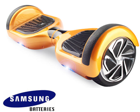 "GT Hover Metallic Gold 6.5"" Hoverboard UL 2272 Certified"