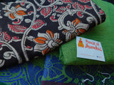 Chettinad Cotton with Kalamkari blouse -1