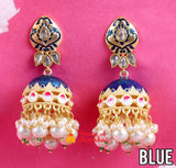 Classic single color Jhumkas (6 color options)