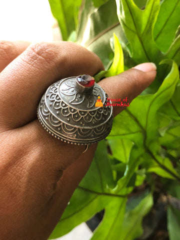 Antique Jhumka ring