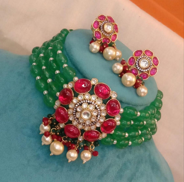 Masaba inspired choker with studs
