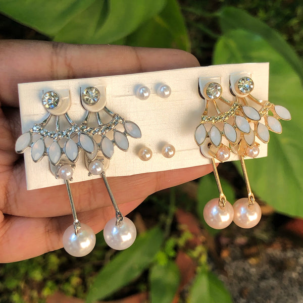 3 pair combo of party earrings