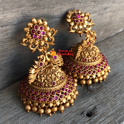 Antique bridal Jhumkas