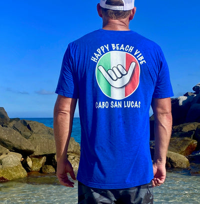 Men's Cabo Tee - Happy Beach Vibe