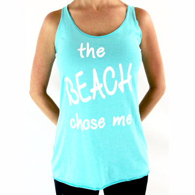Women's Tank Tops - Happy Beach Vibe