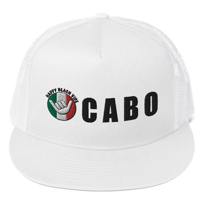 Cabo Trucker Hat - Happy Beach Vibe