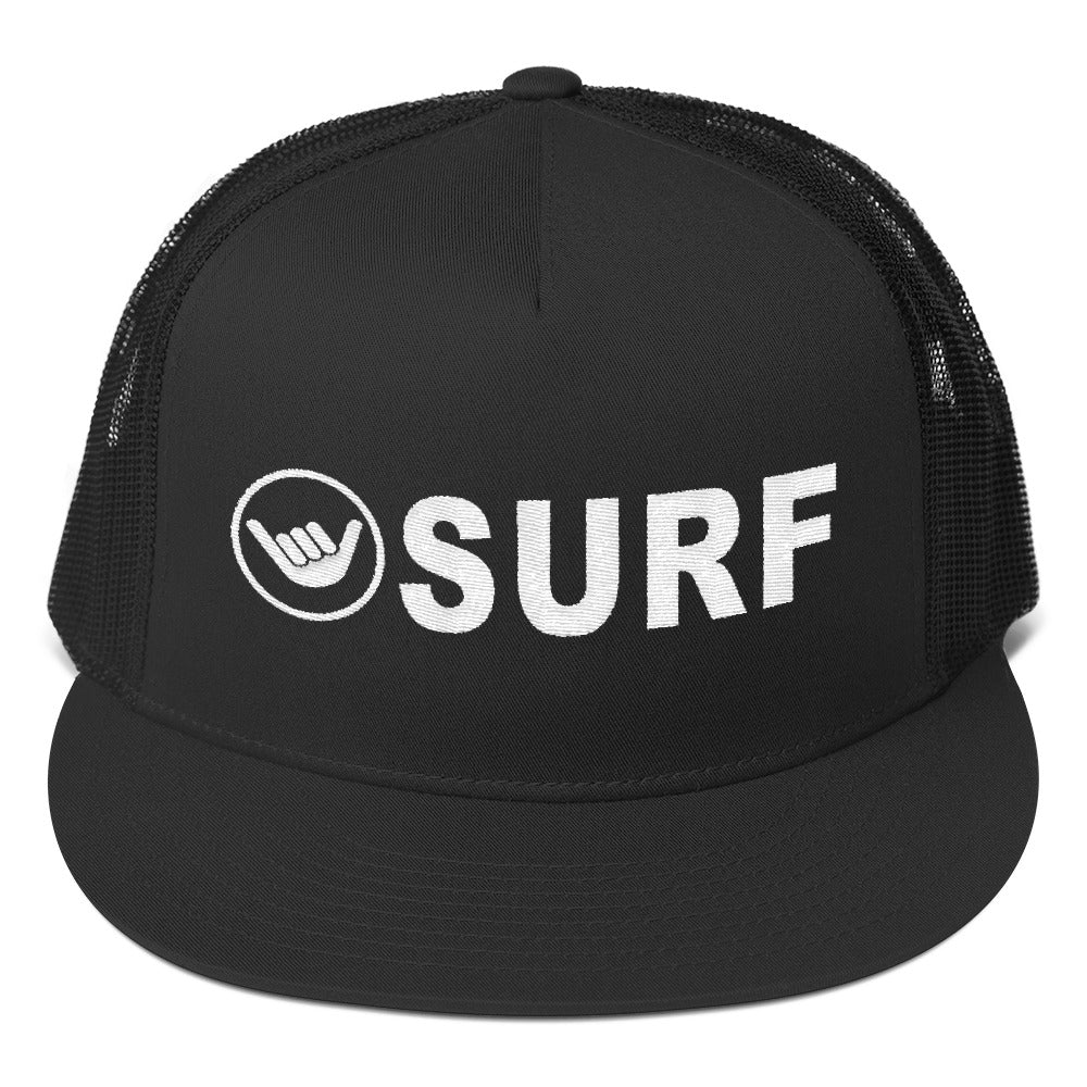 SURF Trucker Hat - Happy Beach Vibe