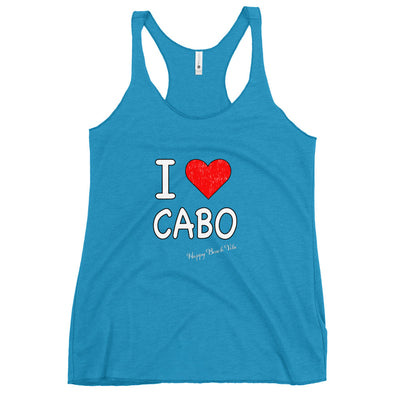 Women's Loving Cabo Tank - Happy Beach Vibe