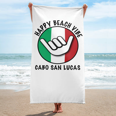 Cabo Beach Towels - Happy Beach Vibe