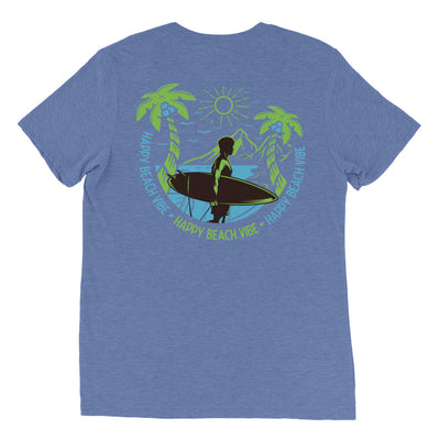 Silhouette Surf Tee - Happy Beach Vibe