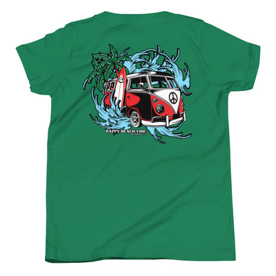 Boys VW Surf Tee - Happy Beach Vibe