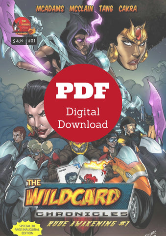 Wildcard Chronicles Rude Awakening Issue #1 (Digital Download)