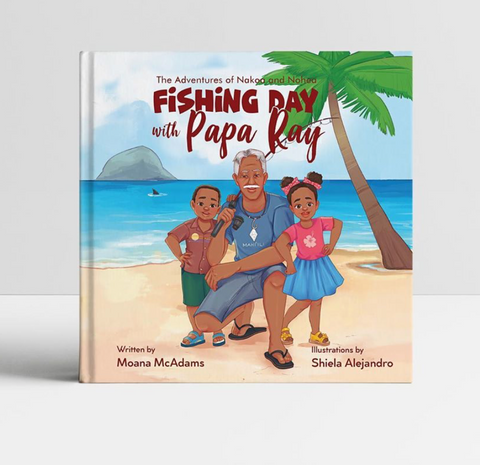 Fishing Day With Papa Ray by Moana McAdams